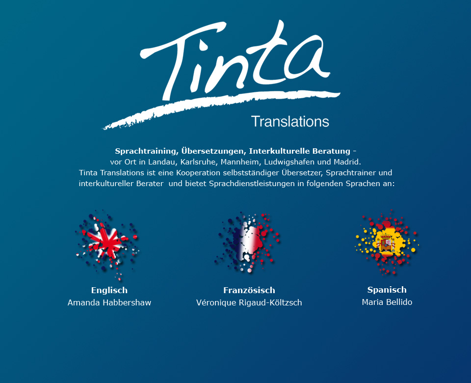 Tinta-Translations and more